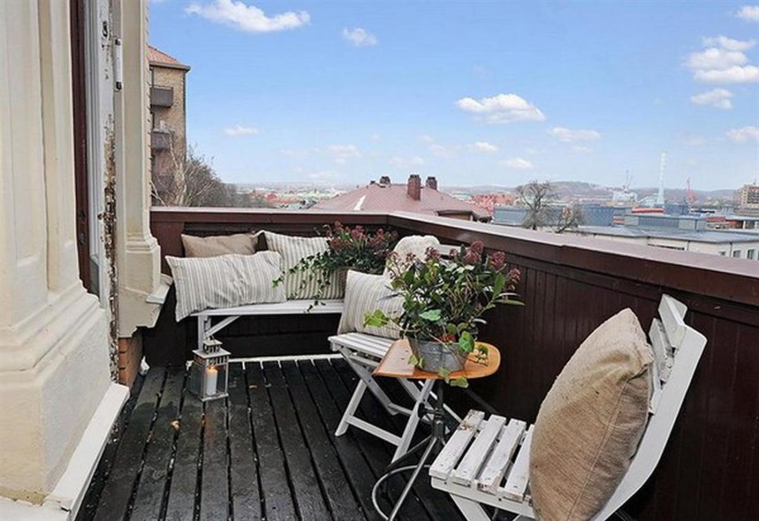 Уют под крышей квартира в скандинавском стиле 19