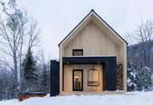 Уютная вилла в лесах Квебека 005