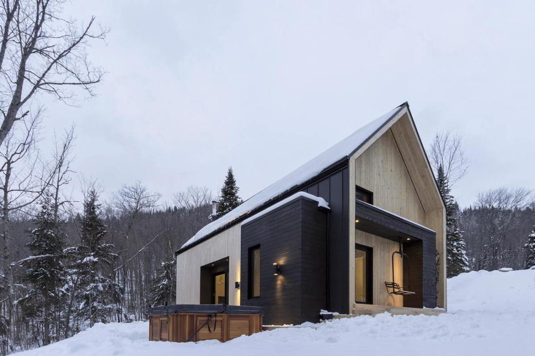 Уютная вилла в лесах Квебека 009
