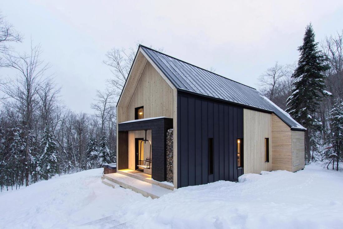 Уютная вилла в лесах Квебека 015