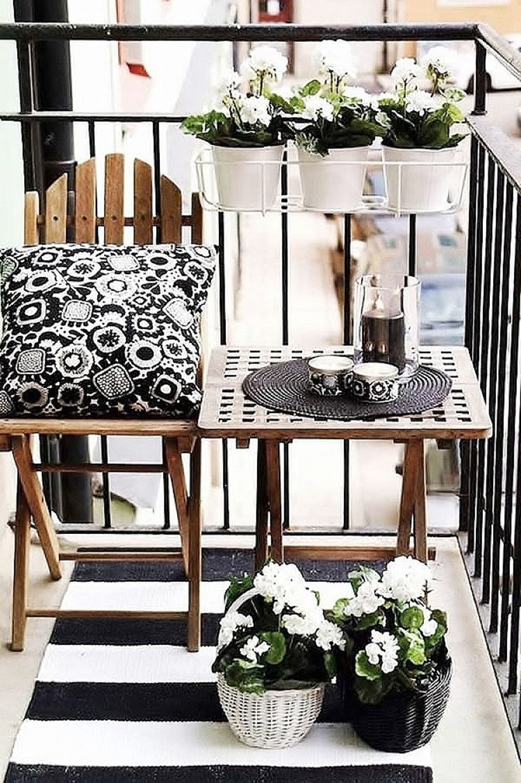 балкон в скандинавском стиле 1