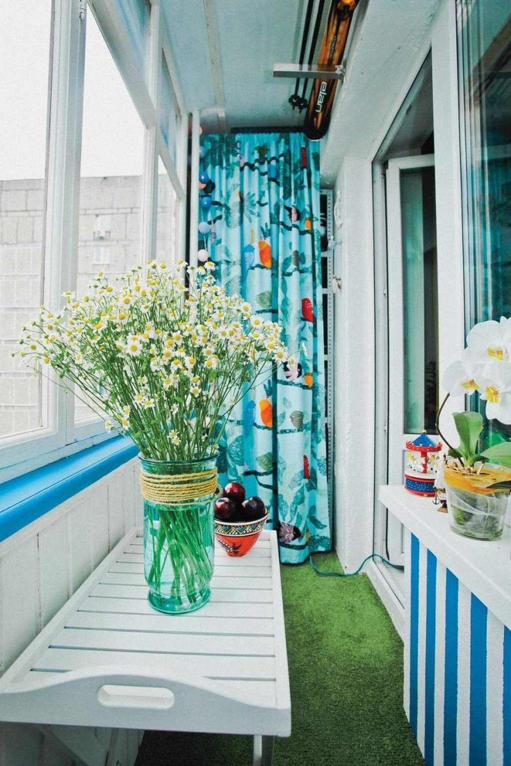 Дизайн балкона площадью 4 кв метра 1