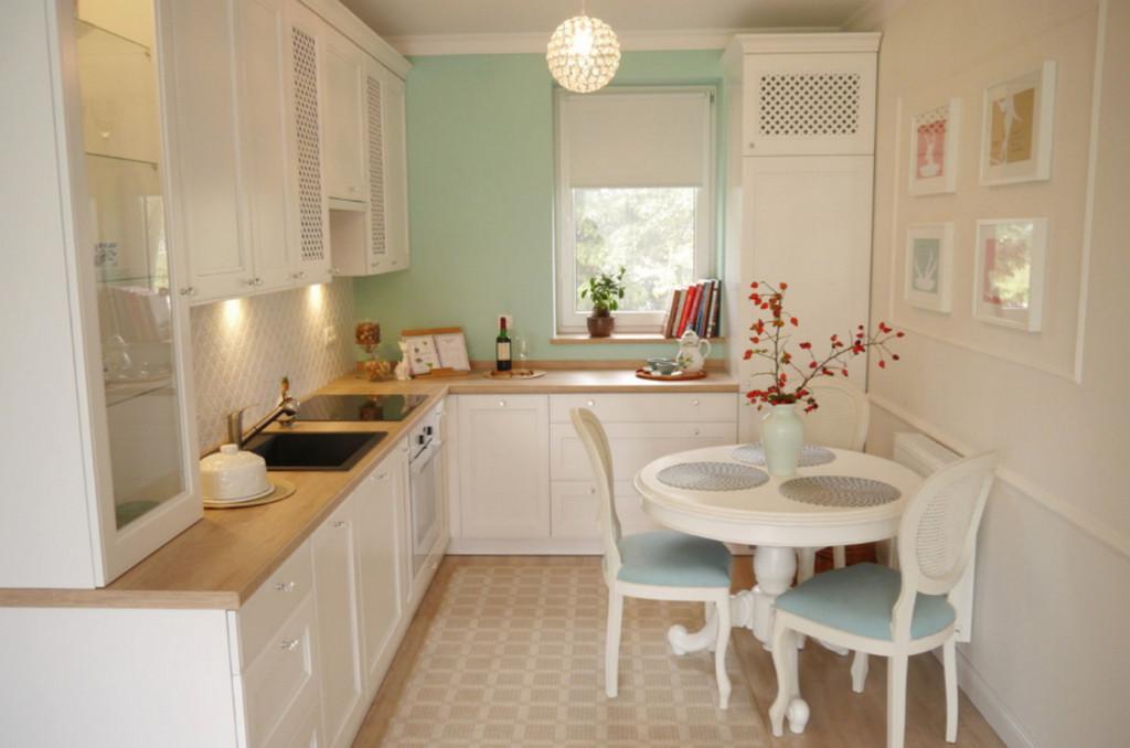 Ремонт малогабаритной квартиры — кухня