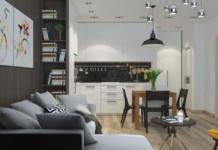 Ремонт малогабаритной квартиры — студия