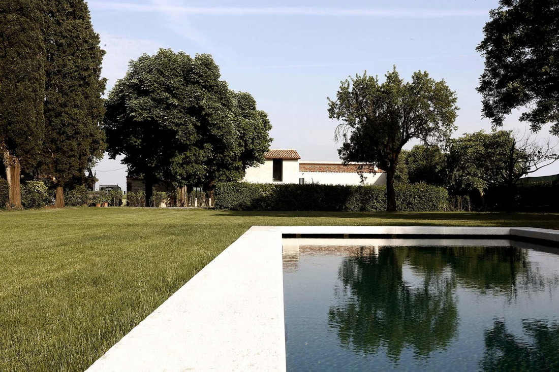 Реставрация виллы Brolo Saccomani в Италии от студии Bricolo Falsarella 2