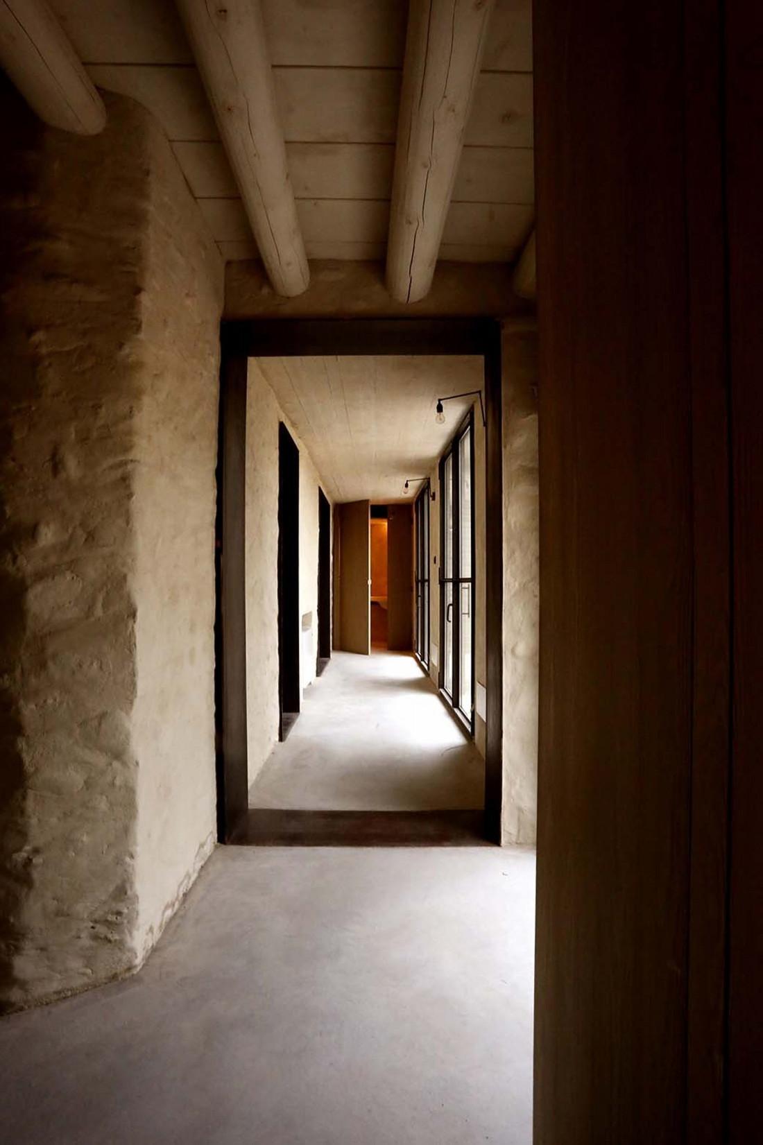Реставрация виллы Brolo Saccomani в Италии от студии Bricolo Falsarella 5